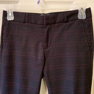 Banana Republic Reegan pant, size 2, charcoal, EUC